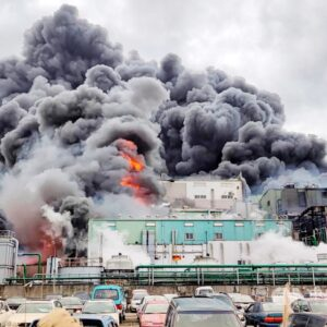 Esplosione fabbrica idrossiclorochina Taiwan 4